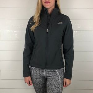 North Face NWOT Apex Bionic Softshell Jacket Gray
